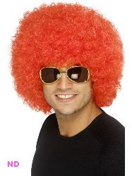This 70s Funky Curly Afro Wig in Red is available from www.novelties-direct.co.uk and is the Comic Relief accessory to get you noticed.