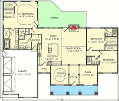 Nicely Proportioned Traditional House Plan - 77617FB | Architectural Designs - House Plans