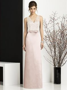 Number 4...................Lace colour Ivory, Satin colour Frost  After Six Bridesmaids Style 6675 http://www.dessy.com/dresses/bridesmaid/6675/#.VG2bivmUf2E