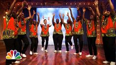 Ladysmith Snack Mambazo: Pringles  Late Night with Jimmy Fallon