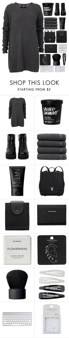 """account refresh//read description"" by xallyssax ❤ liked on Polyvore featuring Designers Remix, The WhitePepper, Linum Home Textiles, NARS Cosmetics, Proenza Schouler, Acne Studios, Byredo, Topshop and Forever 21"