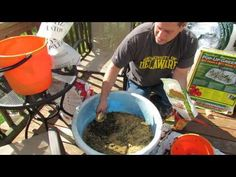 Fall Gardening: Setting Up a Pop Up Greenhouse & Making Container Soil 1 of 6 - TRG 2014 - http://news.gardencentreshopping.co.uk/garden-furniture/fall-gardening-setting-up-a-pop-up-greenhouse-making-container-soil-1-of-6-trg-2014/