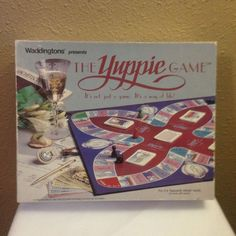 Vintage c. 1985 The Yuppie board game by quality game house Waddingtons. Game is complete and in excellent condition Easy Birthday Party Games, Dinosaur Party Games, Pool Party Games, Gym Games For Kids, Board Games For Couples, Activities For Girls, Anniversary Games, Engagement Party Games, Summer Fun For Kids