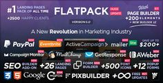 Download – FLATPACK  Landing Pages Pack With Page Builder – Version 5.0