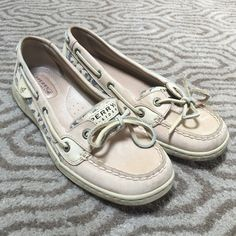 Leopard Sperry's  Used condition. Very good shape, some dirt around the bottom and some blue dye rub off from wearing them with jeans. SUMBIT OFFERS THROUGH THE OFFER TOOL ⭐️ Sperry Top-Sider Shoes