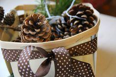 Familienjahr: Selbstgemachte Weihnachtsgeschenke: Kaminanzünder-Zapfen