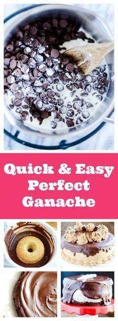 Chocolate Ganache - Chocolate Ganache - 4 Ways...  Chocolate Ganache - Chocolate Ganache - 4 Ways www.somethingswan Recipe : http://ift.tt/1hGiZgA And @ItsNutella  http://ift.tt/2v8iUYWwww.somethingswan Recipe : http://ift.tt/1hGiZgA And @ItsNutella  http://ift.tt/2v8iUYW