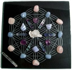 Because of their structure, crystals have the ability to hold a stable vibration. When used consciously, crystals can activate vibrations that support powerful manifestation, health, and protection.For more on Activating a Room using Crystals and Sacred Geometry: http://www.eternallightenergy.com/classes/activate-your-physical-space-using-crystals-and-sacred-geometry