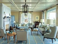 by designer Michael S. Smith: Hamptons