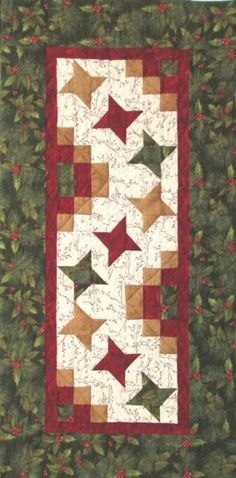 Winter's Song Fresh Berries Table Runner Kit