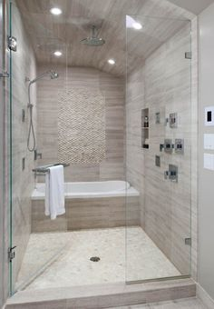 bathtub+inside+walk+in+shower | Bathroom Interior Design Ideas: Vintage Walk In Bathtub And Shower ...
