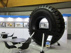 our biggest tire in 08/2013 in Sydney AIMEX Show #Maxam #MaxamTire #Tire #Tyre #Tires #Show #AIMEX #Sydney #Australia #Stamford #Exhibition #OTR #Solid #Pneumatics #Industrial #Construction #Mining #Smooth #Running