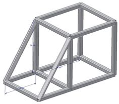 From the Trenches with Autodesk Inventor: Using Reference Angles in Frame Generator Autodesk Inventor, Welding Projects, Sheet Metal, Amazing Things, Angles, Frame, Picture Frame, Cool Welding Projects