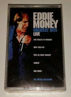 Eddie Money greatest hits live cassette tape BMG