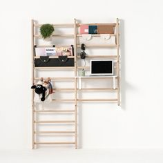 This Flexible Wall Bars System by Norway-Based KAOS is Modern Parent- & Cool Kid-Approved