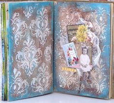 jehkotar: Art Journal with vintage