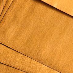 Goldene Umschläge DIN lang