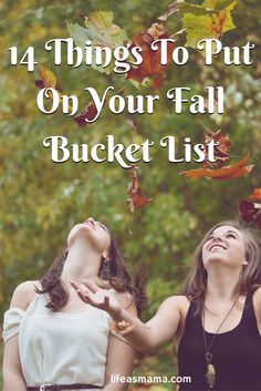 I've come up with 14 things every lover of fall should do to take advantage of all that fall has to offer. Once you've checked these items off your list, you can say you've had the full fall experience! If you're a fall fanatic, what are your favorite ways to celebrate the season?