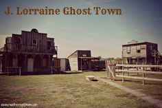 """""""Ghost town"""" outside of Austin. May stop by during spring break."""