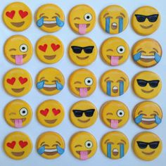 Emotive cookies by Baked Ideas