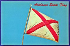 USA - PATRIOTIC, ALABAMA STATE FLAG