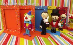 porta retrato circo biscuit circo - Pesquisa Google