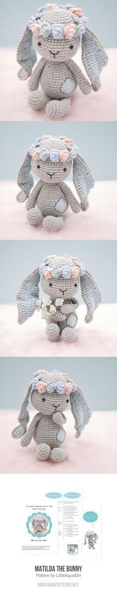 Mesmerizing Crochet an Amigurumi Rabbit Ideas. Lovely Crochet an Amigurumi Rabbit Ideas. Crochet Diy, Crochet Amigurumi, Easter Crochet, Crochet Bunny, Amigurumi Patterns, Crochet Animals, Crochet Crafts, Crochet Dolls, Crochet Projects