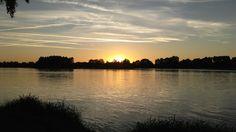 Crépuscule sur la Loire