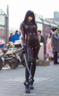 GANTZ cosplay ,so hot #GANTZcosplay #cosplayclass #cosplaygirl