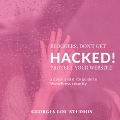 Don't get your Wordpress blog hacked!