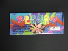 Rainbow Loom Bracelet Making Kit. Still Sealed. Kids Craft. 600+ Rubber Bands, loom, hook. New Unused.