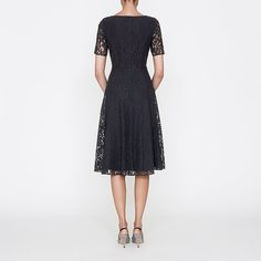 Dress with Sleeves. LBD #dress #Sleeves #dresseswithsleeves ::: Celine Lace Dress | Dresses | Clothing | L.K.Bennett, London