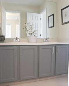 Painting A Jack And Jill Bathroom