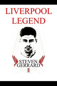 Steven Gerrard Liverpool Legend T-Shirt, any Liverpool fan would go crazy to have one of these new unique Liverpool tshirts, visit our website and view our full range www.totalgiftz.com Liverpool Legends, Liverpool Fans, Personalised Football, Personalised Gifts, Conor Mcgreggor, Steven Gerrard Liverpool, Gifts For Football Fans, Irish Rugby, Going Crazy