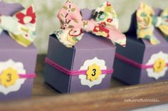 Treat Box Party Favor using by designer Heidi from Sew Craft Create using Lifestyle Crafts treat box die. #partyfavors #diecut