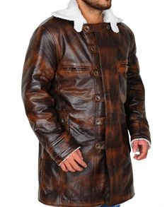 "One of the best outfit ""Distress Tom hardy Bane Coat"" is now on sale, Make an order and make it yours at very reasonable prices, Leather Collar, Leather Jacket, The Dark Knight Rises, Tom Hardy, Bane, Distressed Leather, The Darkest, Toms, Celebs"