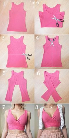 This DIY Tops are softer than the cute summer Dresses - Cute bathing suits - This DIY Tops are softer than the lovable summer season Clothes – Cute bathing fits – Gulbahca Diy Clothes Tops, Diy Summer Clothes, Diy Tops, Diy Clothes Videos, Cute Summer Dresses, Clothes Refashion, Dress Summer, Diy Fashion Hacks, Fashion Outfits
