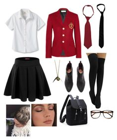 Yves saint laurent, zara taylor and zerouv school uniform outfits, school g Outfits With Converse, Preppy Outfits, Outfits For Teens, Fashion Outfits, School Outfits Tumblr, School Outfits For College, Summer School Outfits, Private School Uniforms, Skirts