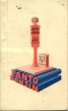 "Directory for ""Fanto Benzin,"" Czecholsovakia, circa 1935"