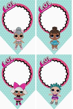 – Oh My Fiesta! in english LOL Surprise Free Printable Bunting. – Oh My Fiesta! in english Little Girl Birthday, 7th Birthday, Birthday Party Themes, Birthday Bunting, Leelah, Oh My Fiesta, Doll Party, Party Party, Lol Dolls