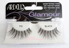 LOT-OF-4-Ardell-Glamour-Lashes-113-False-Fake-Eyelashes-Fashion-Black-Wispy ca 125 kr