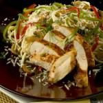 Serve up a spicy dinner for two with this hot and creamy linguini tossed with an eye-opening blend of chicken strips sauteed with Cajun seasoning, Colorful bell peppers, mushrooms and onions. Cream, basil, lemon pepper and garlic powder finish the sauce.