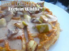 Apple Strudel Protein Waffle!