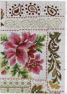 Cross Stitch Cushion, Cross Stitch Owl, Cross Stitch Borders, Cross Stitch Flowers, Cross Stitch Charts, Cross Stitch Designs, Cross Stitching, Blackwork Patterns, Embroidery Patterns