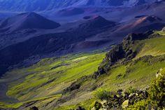 #17 Haleakala on Maui #5 Hawai'i Volcanoes on Big Island