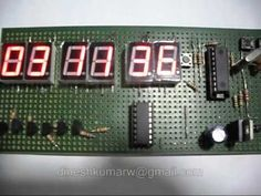 PIC16F84A Digital Clock. Microcontroller Digital Clock.