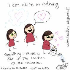 ACIM-doodles: The Universe is Listening