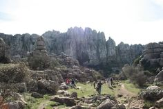 El Torcal - In the mountains close to Malaga the rocks are so worth the effort to get here
