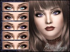Pure Eyes by Pralinesims  http://www.thesimsresource.com/downloads/1175997