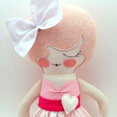 Primrose edición especial 18 muñeca de trapo por piggyhatespanda